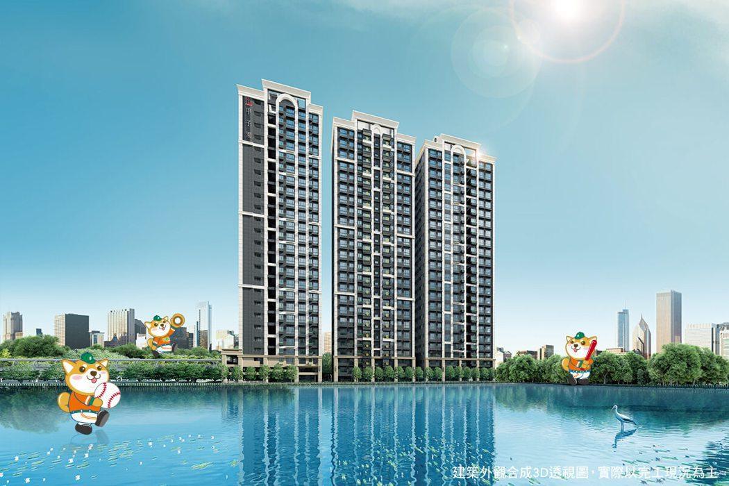根據市場調查,2020年下半年在機場捷運A7站中心商業區正核心的「竹城甲子園」已...