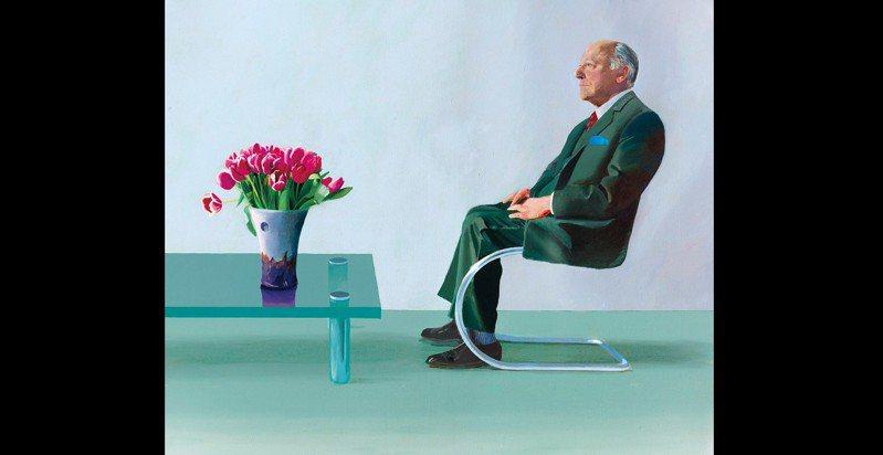 ▲首圖: David Hockney筆下的David Webster畫像(1971),photo: David Hockney/Christie's