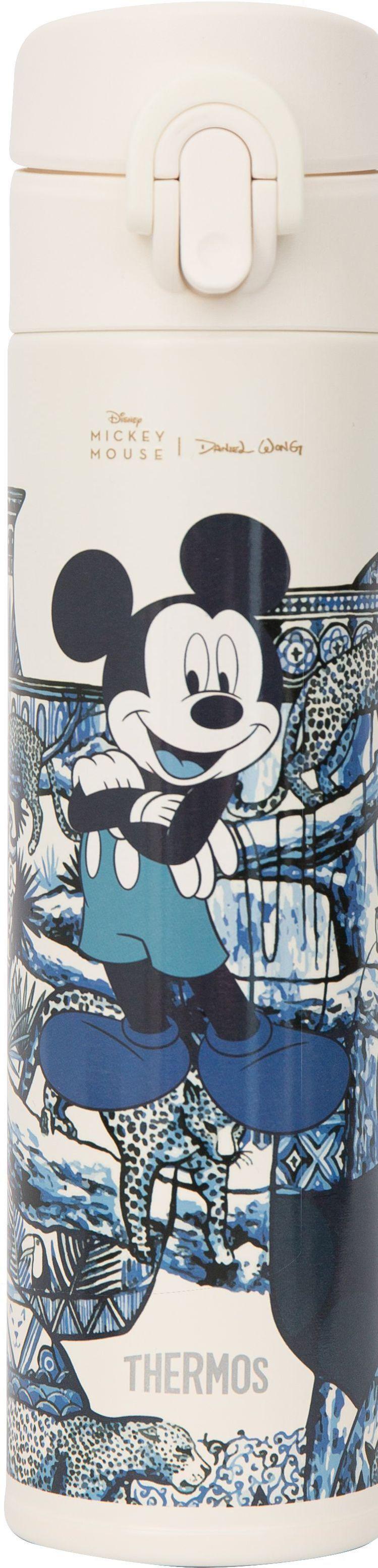 瓷花樂園不鏽鋼真空保溫瓶,1,880元。圖/Daniel Wong提供