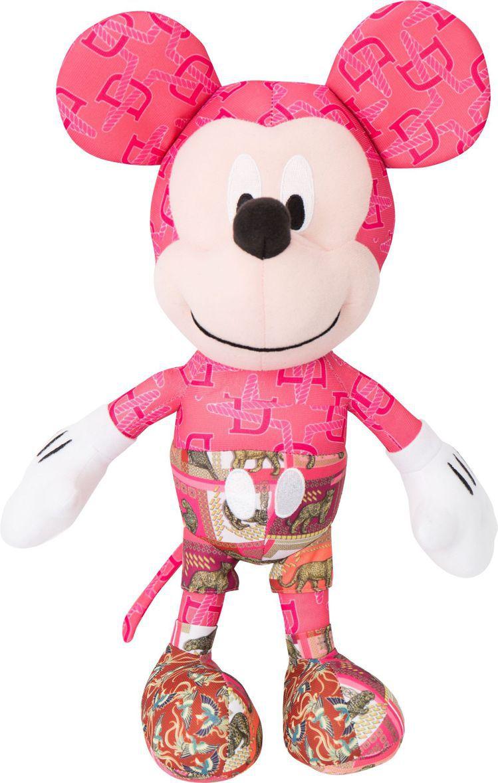 米奇獨特自由粉色印花玩偶,2,880元。圖/Daniel Wong提供