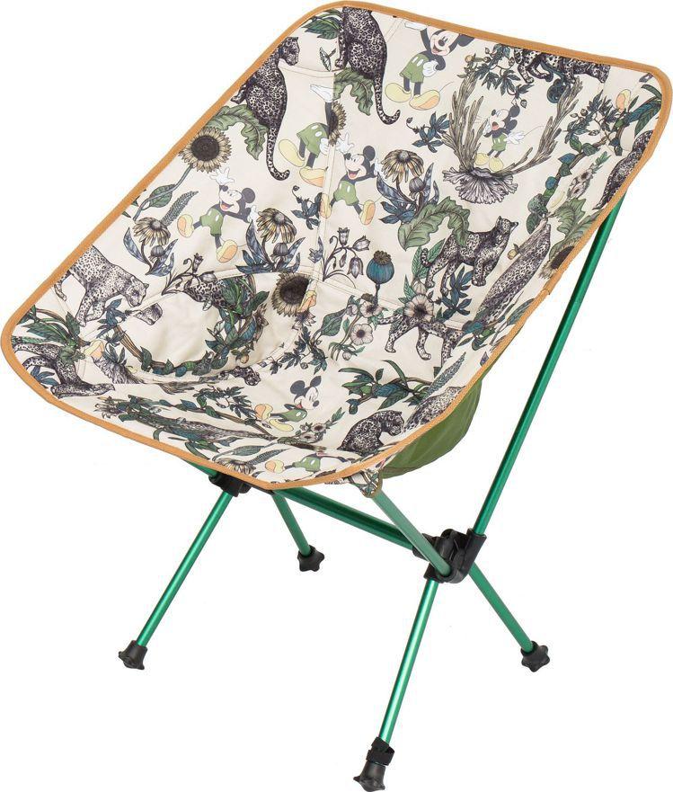 忘憂叢林卡其色折疊椅,1,980元。圖/Daniel Wong提供