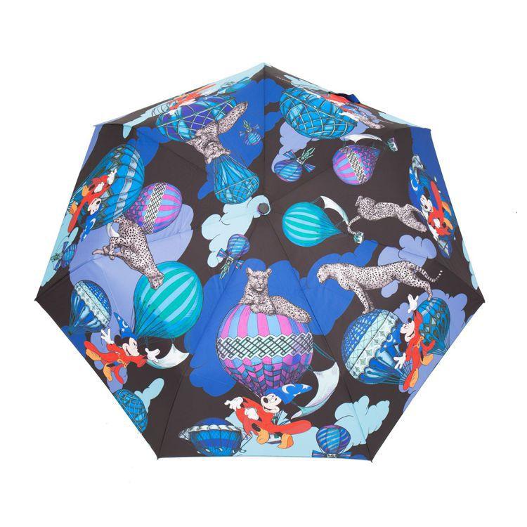 幻想曲藍色玻璃纖維折傘,1,980元。圖/Daniel Wong提供