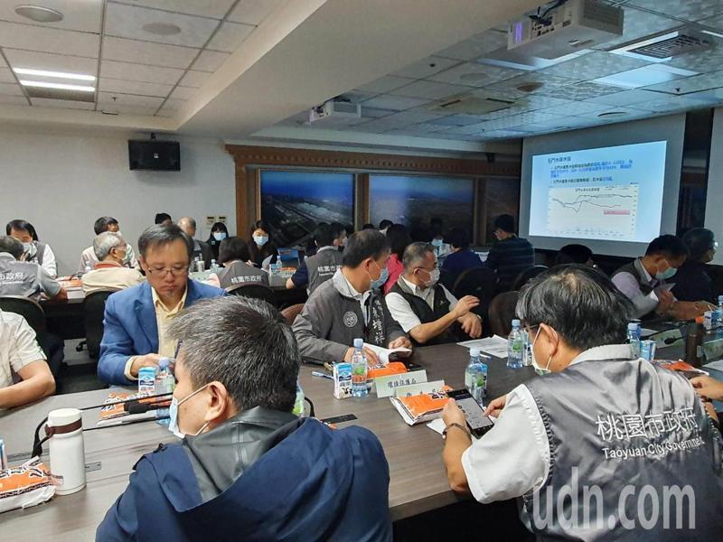 桃園市政府今舉行第6次抗旱應變會議。記者陳夢茹/攝影