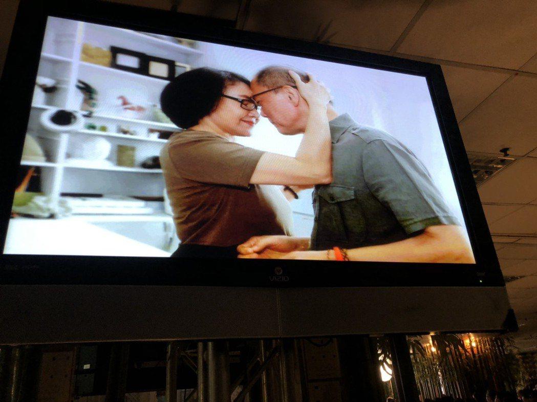 金馬名導張毅的追思會上,曝光多張他與楊惠姍生前的幸福照片。記者陳建嘉攝