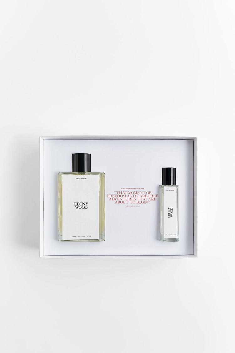 ZARA耶誕限定禮盒,90ml、15ml香水1,490元。圖/ZARA提供