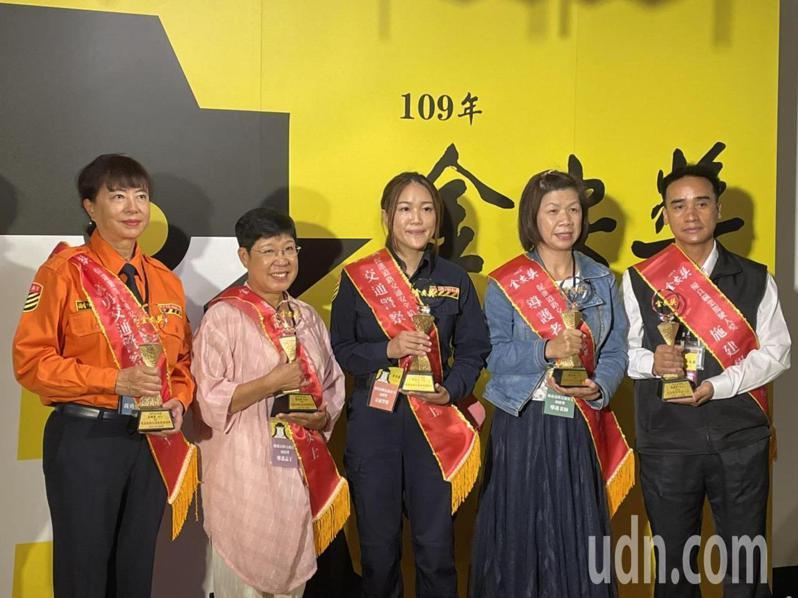 「109年金安獎頒獎典禮」今天登場。記者曹悅華/攝影