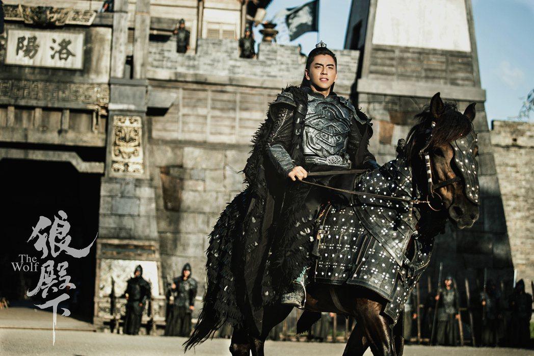 「狼殿下」空降播出,王大陸熱潮再起。圖/京騰娛樂提供