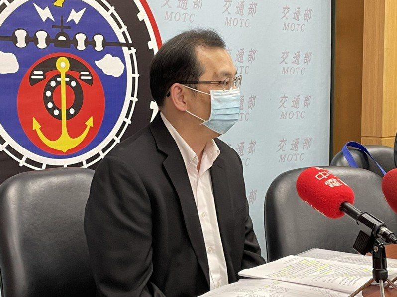 交通部路政司說明12月三大新制。記者曹悅華/攝影