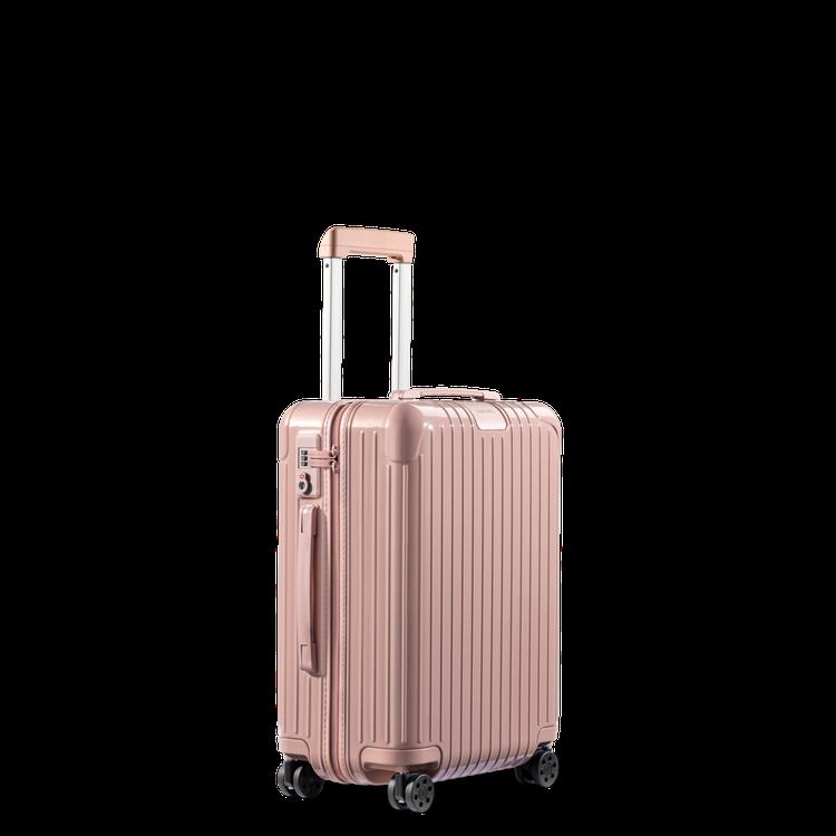 RIMOWA Essential系列霧粉色登機箱22,700元。圖/RIMOWA...