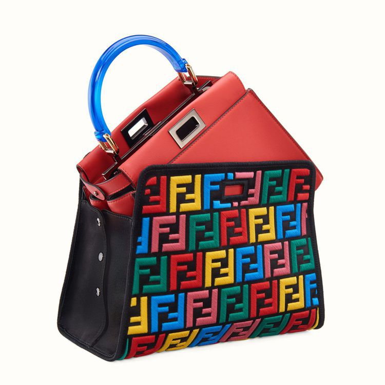 FENDI Mini Peekaboo Combo,30萬700元。圖/FEND...