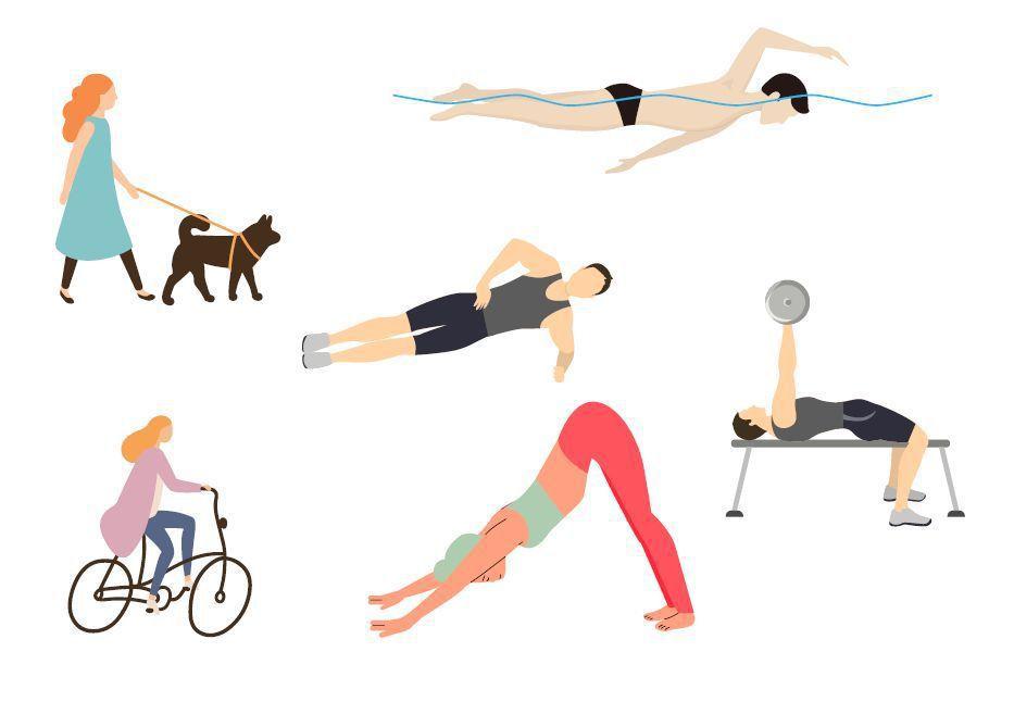 選擇運動前,思考自己要的運動目標,然後對照自身條件,就可以找到適合你的運動。圖/...