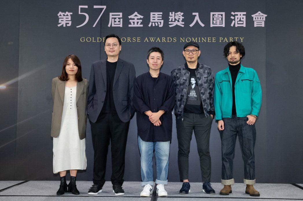 柯貞年、許承傑、廖明毅、張吉安以及陳健朗。記者季相儒攝影