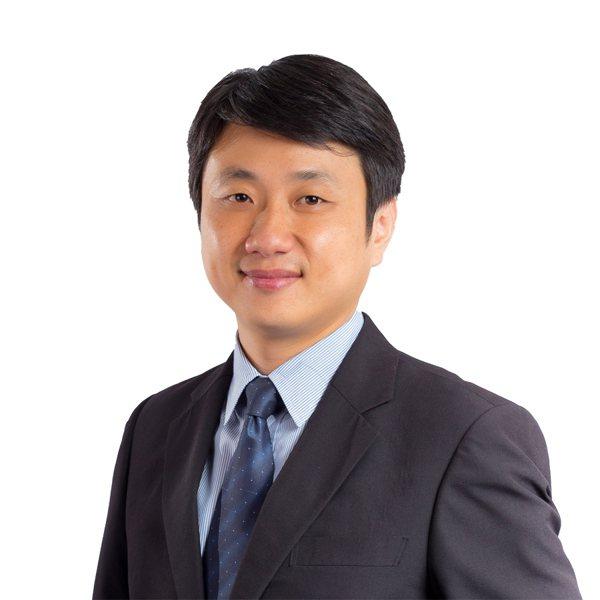 第一金全球AI人工智慧基金經理人陳世杰。第一金投信/提供。