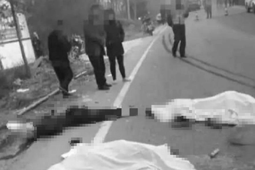 「全部一起陪葬」送葬隊伍遭貨車猛烈衝撞 棺材全毀9死4傷
