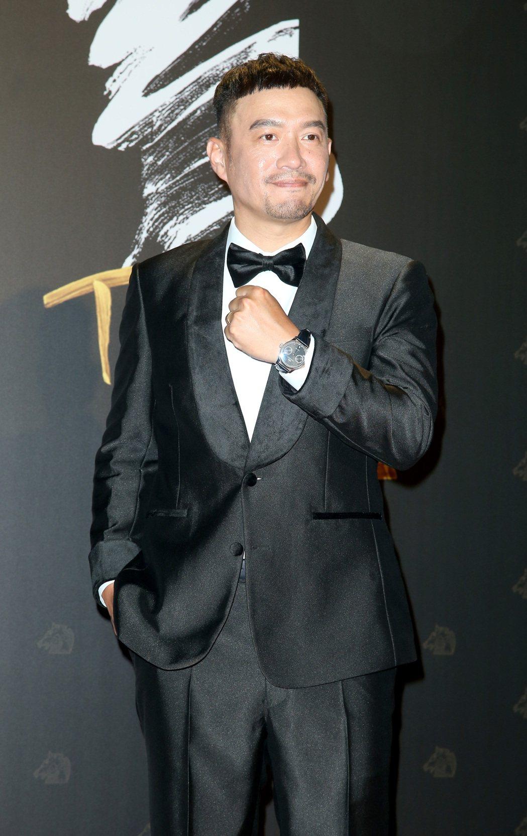 第57屆金馬頒獎典禮,張翰走星光大道。記者陳立凱/攝影