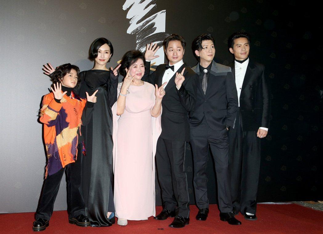 第57屆金馬頒獎典禮,親愛的房客劇組走星光大道。記者陳立凱/攝影