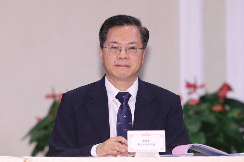 國發會主委龔明鑫。聯合報系記者許正宏/攝影