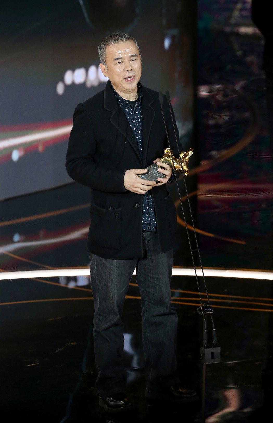 第57屆金馬獎頒獎典禮在國父紀念館舉行,陳玉勳。記者季相儒/攝影
