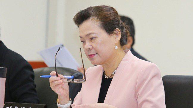 RCEP簽署後,各界擔心台灣經貿會被邊緣化。經濟部長王美花。圖/報系資料照