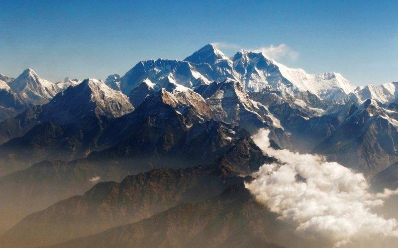 聖母峰。路透