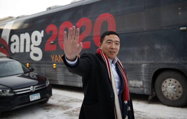 美國有線電視新聞網(CNN)報導,美國總統當選人拜登近期將公布他的內閣名單,台裔美籍企業家楊安澤(Andrew Yang)有望出任商務部長。(聯合報資料照片)