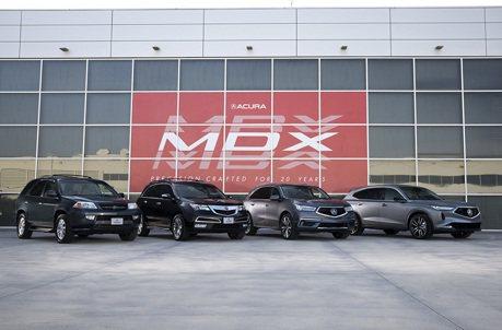 影/Acura MDX Prototype原型車預告了4代車型新設計
