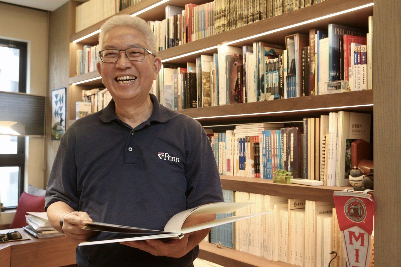 張金鶚秉持「活在當下」的態度,積極展開退休生活。記者黃義書/攝影