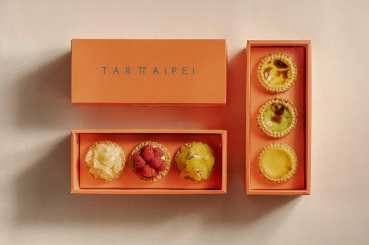 手工酥塔也有禮盒包裝。圖/TART TAIPEI提供