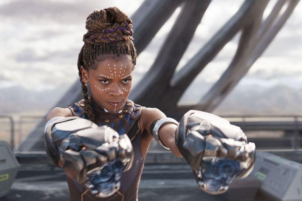 蕾蒂夏萊特在「黑豹2」據傳重要性會大增。圖/摘自imdb
