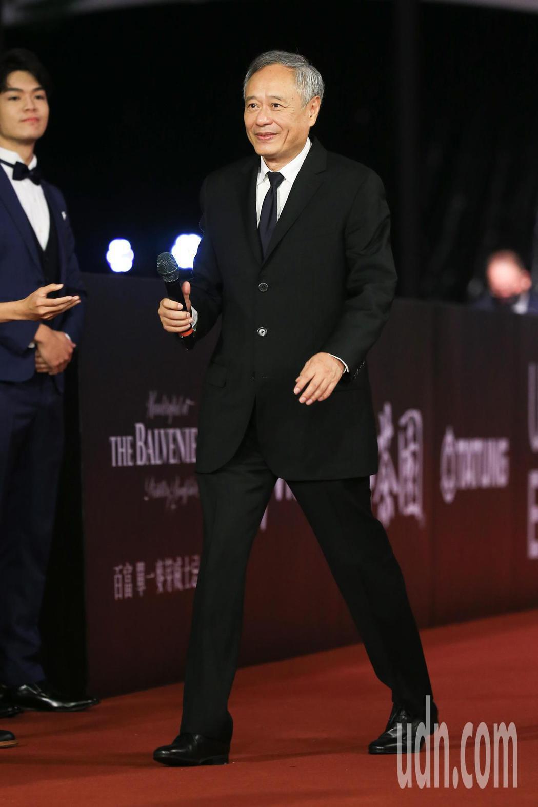 第57屆金馬頒獎典禮,主席李安走星光大道。記者林伯東/攝影