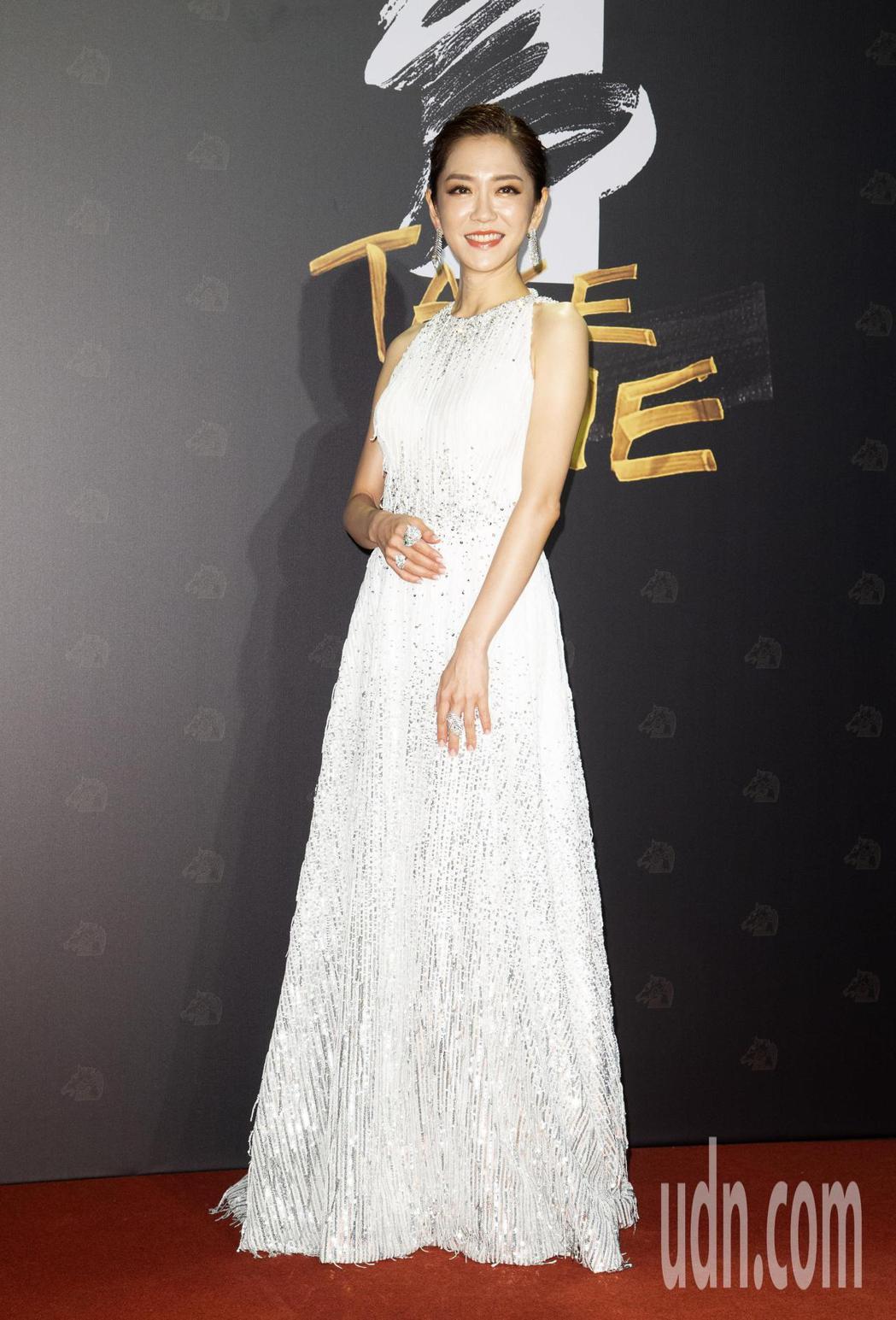 第57屆金馬獎頒獎典禮在國父紀念館舉行,楊千霈擔任星光大道主持人。記者陳立凱/攝