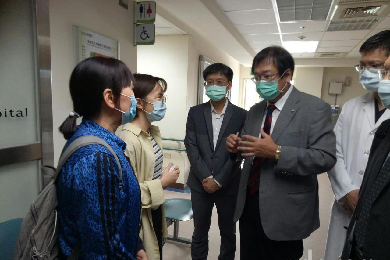 台中男打流感疫苗罹罕見疾病 1個月治療狀況漸改善