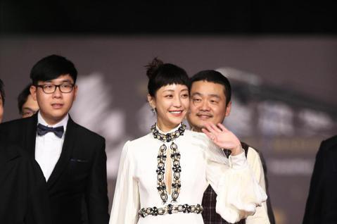 第57屆金馬頒獎典禮,謝欣穎走星光大道。