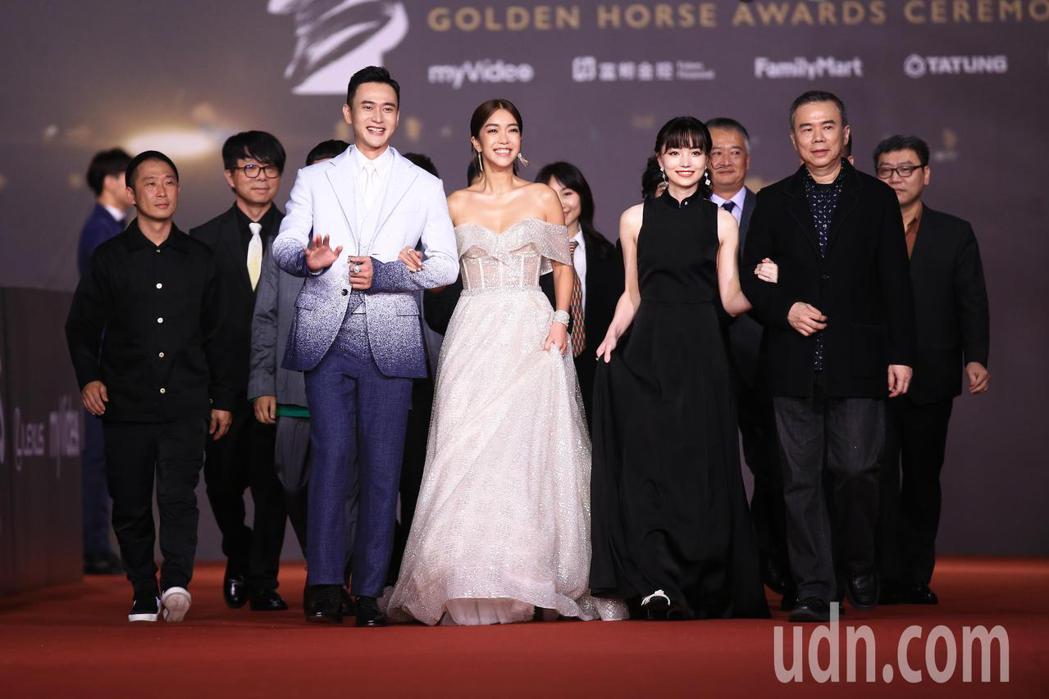 第57屆金馬頒獎典禮,劇組《消失的情人節》走星光大道。記者林伯東/攝影