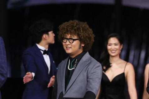 第57屆金馬頒獎典禮,納豆走星光大道。