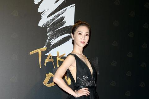第57屆金馬頒獎典禮,謝盈萱走星光大道。