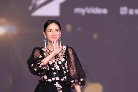 第57屆金馬頒獎典禮,李心潔走星光大道。