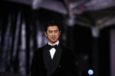 第57屆金馬頒獎典禮,陳柏霖走星光大道。
