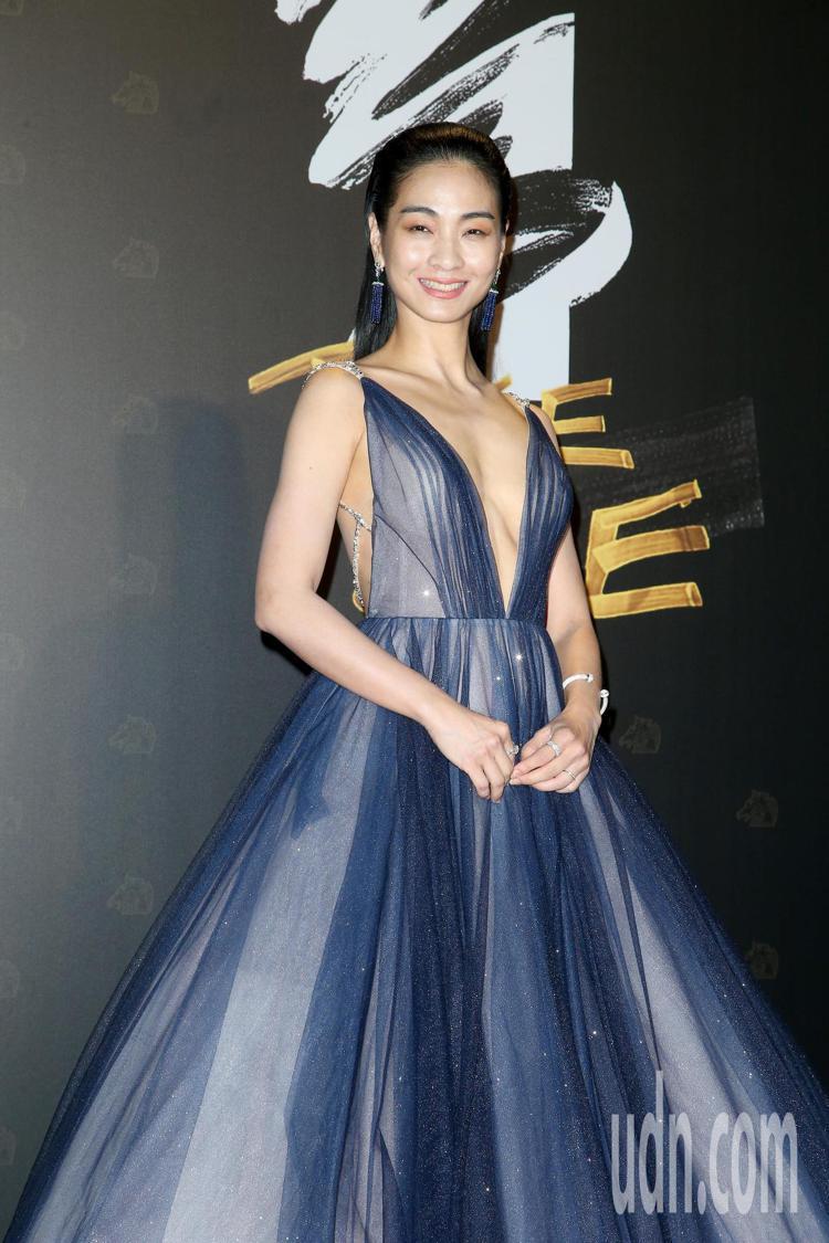 第57屆金馬頒獎典禮,陳雪甄走星光大道。記者陳立凱/攝影