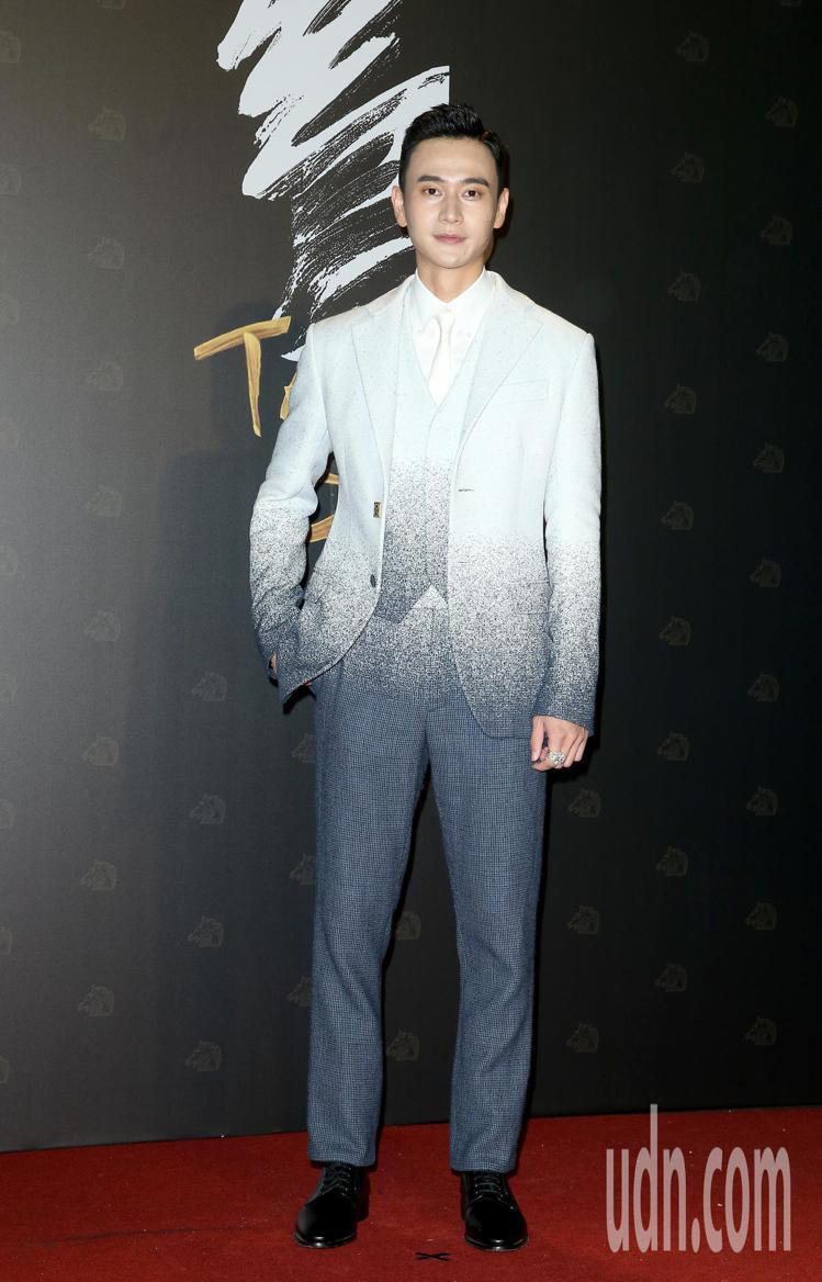 第57屆金馬頒獎典禮,劉冠廷走星光大道。記者陳立凱/攝影