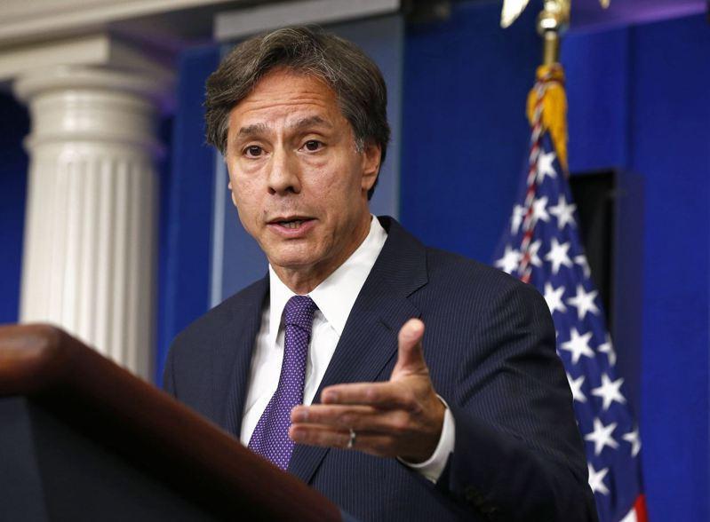 2013年擔任副國家安全顧問的布林肯。路透