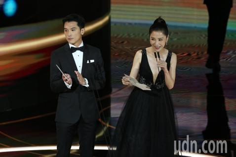 第57屆金馬獎頒獎典禮在國父紀念館舉行,邱澤與謝盈萱擔任頒獎人。