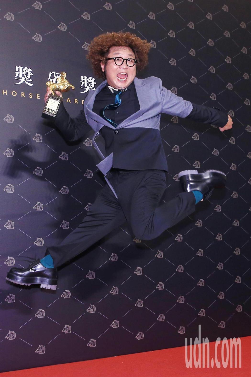 第57屆金馬獎頒獎典禮在國父紀念館舉行,納豆以《同學麥娜絲》獲頒最佳男配角。記者