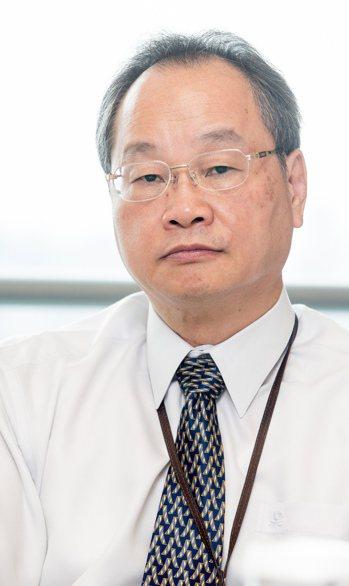 寶成集團總經理詹陸銘。記者黃士航/攝影