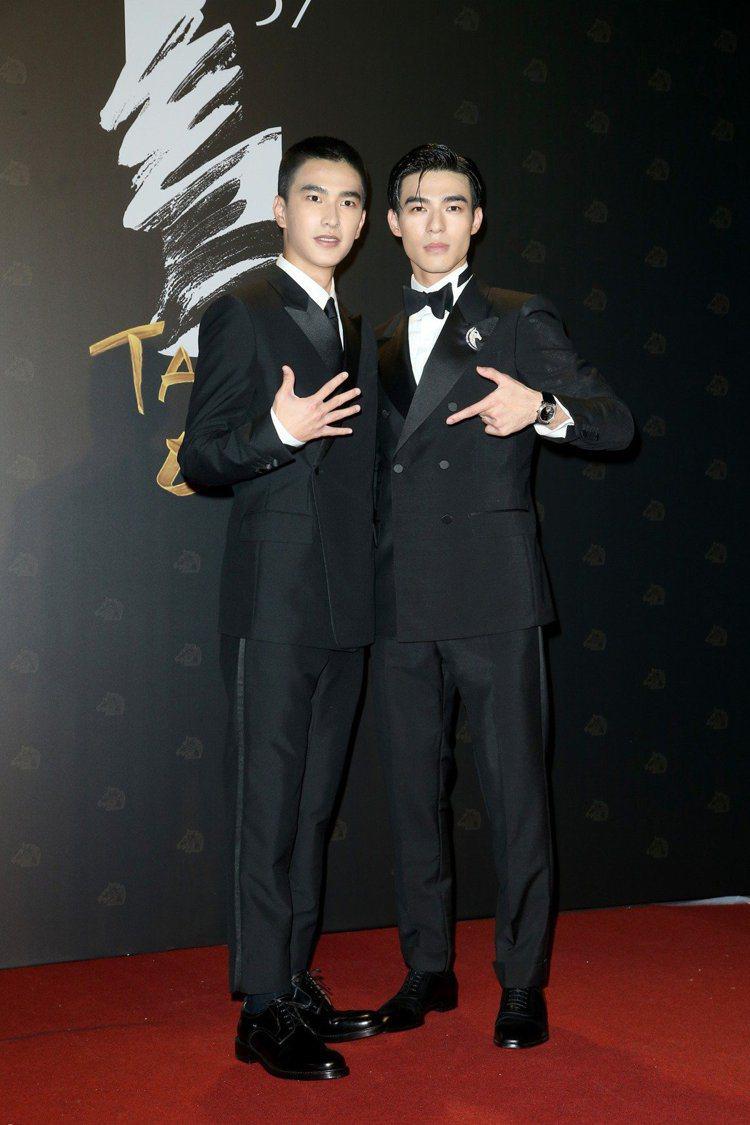 曾敬驊(左)、陳昊森。記者林伯東/攝影