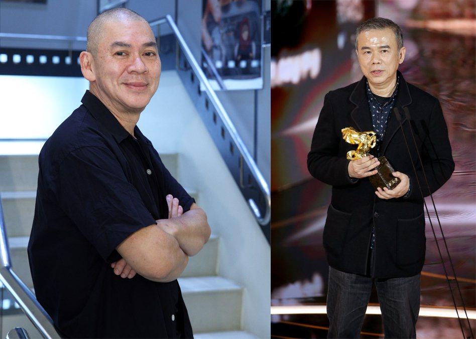 蔡明亮、陳玉勳。圖/報系資料照、記者季相儒/攝影