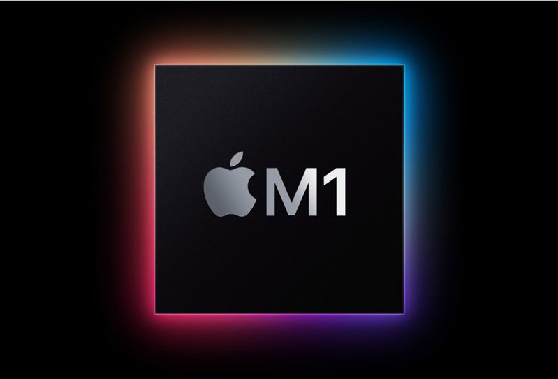 蘋果新筆電MacBook配備蘋果自製M1處理器,具備強大效能。 歐新社