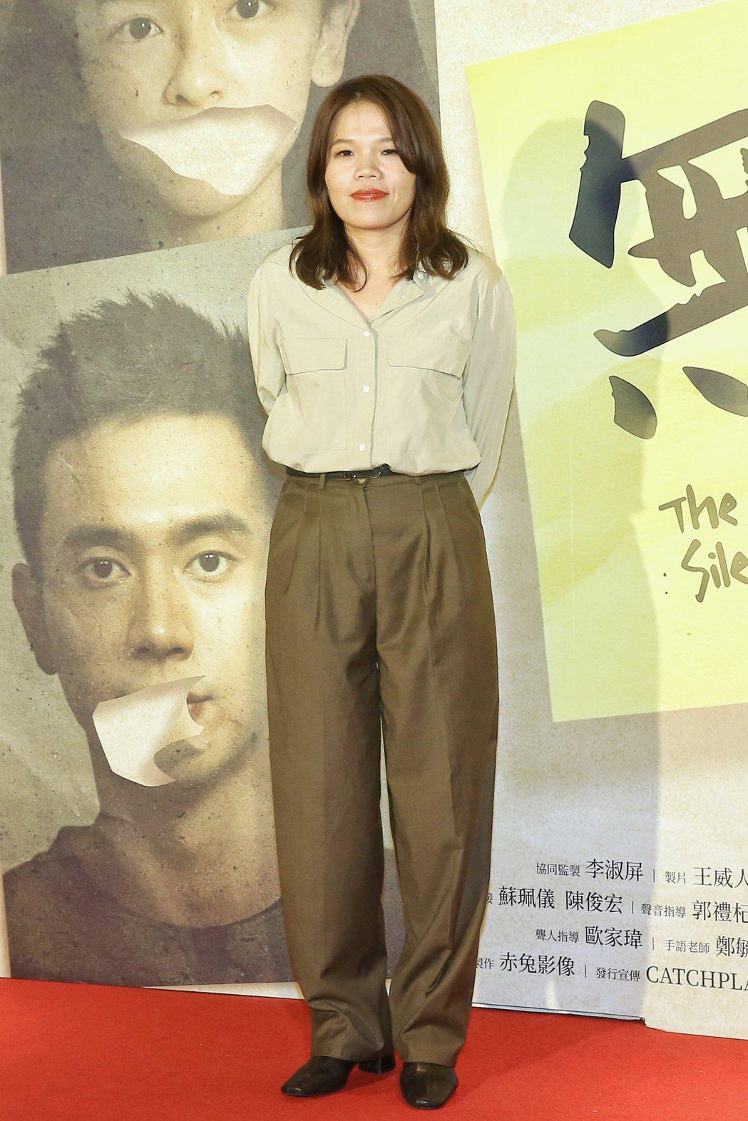 《無聲》劇組在金馬頒獎典禮結束後,導演柯貞年出席慶功宴。記者林伯東/攝影