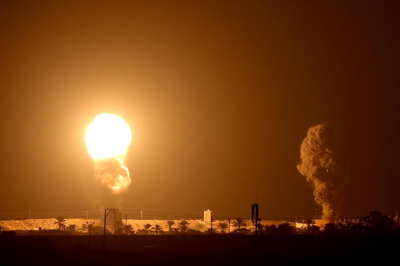遭哈瑪斯火箭攻擊 以色列空襲回敬