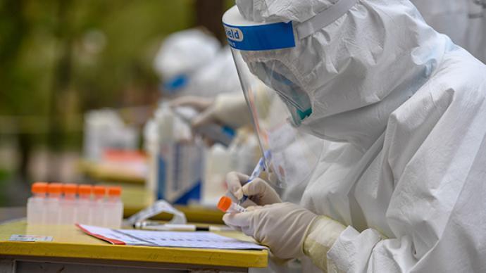 大陸本土疫情升溫,內蒙、上海新增3例確診。(澎湃新聞)